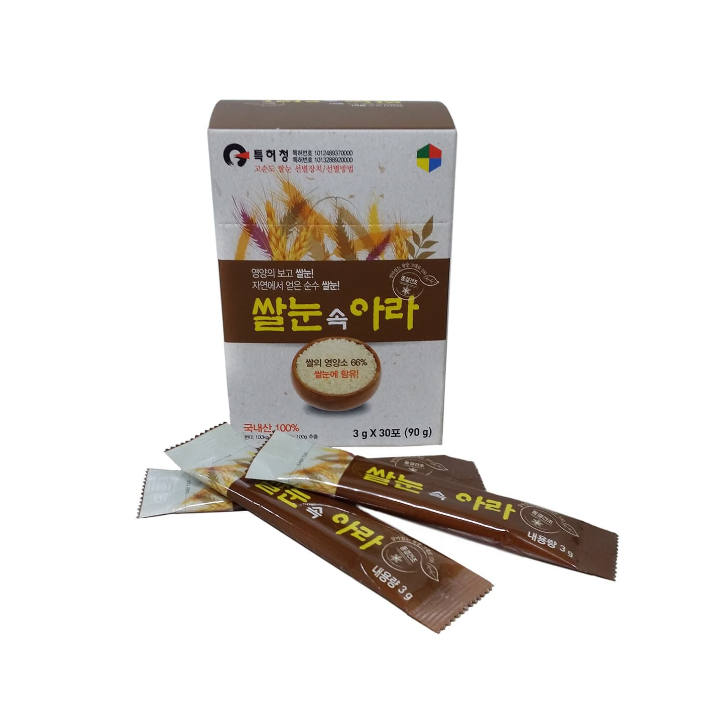 RICE Stick -Freeze-dried rice germ stick-