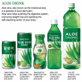 LOTTE ALOE DRINK AND JUICE