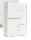 FORTUNA Daily MaskPack 1box_10ea__Propolis_ Marine Collagen_ Red ginseng Centella Asiatica__ChungChe