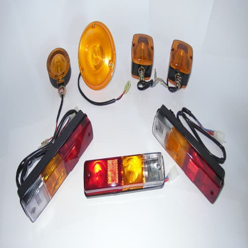 All types of Lamps for Construction Equipment