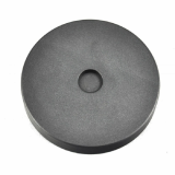 Gold Round Graphite Ingot Mold