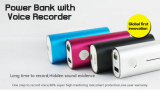 Mobile Power Bank Mini Hidden Voice Recorder