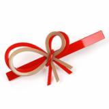 Mary Ribbon hair clamp / hair accessory