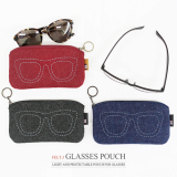 THE BASIC Felt ver3 Glasses Pouch