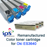 Oki ES3640a3 Compatible Color Toner Cartridge, Korea