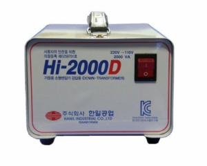 2KW/2KVA Step down transformer for HOME app from DAEWOONG ...