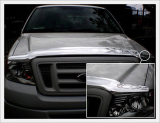 F-150 Chrome Hood Guard