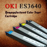 Oki ES3640 Glossy Compatible Color Cartridge , Korea