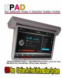 Flip-Down  19 inch Multimedia Bus TV Monitor
