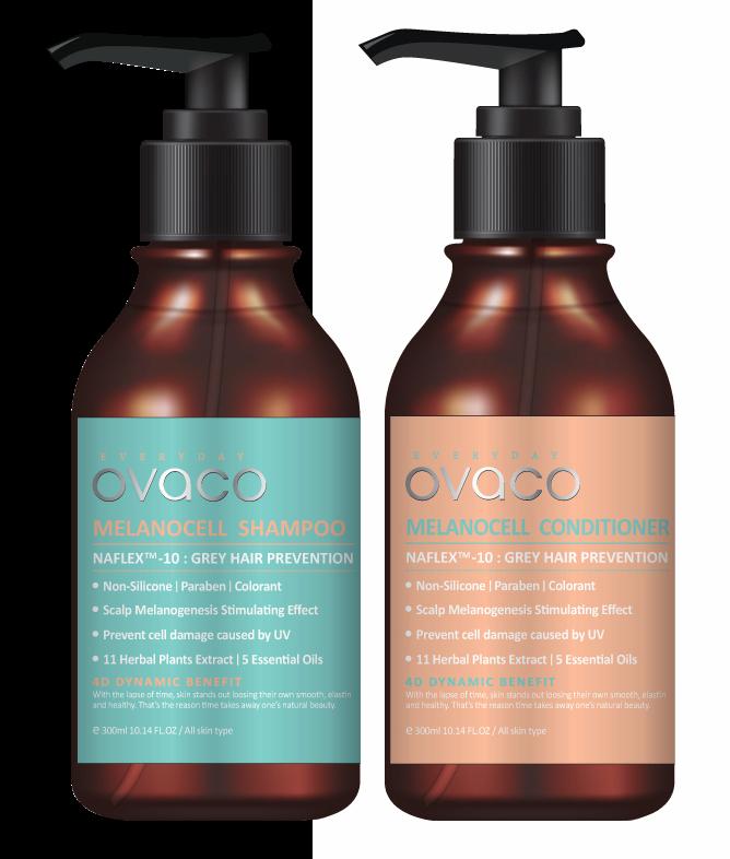 OVACO Melanocell Shampoo _ Conditioner _NON SILICONE_