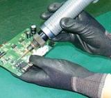 Nylon PU Palm Coated Gloves