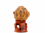 HUYIXUAN Miniature Carved Decoration Gourd TONGZI