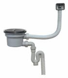 Kitchen sink drain - U-trap type