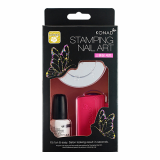KONAD Self nail art _DIY stamping set_ Stamping self kit_