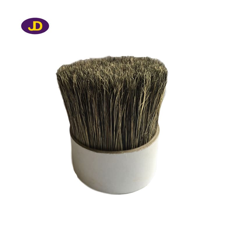 The factory supplies pure white_black_gray boiled bristle_