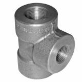 duplex stainless ASTMA182 F62 socket weld tee
