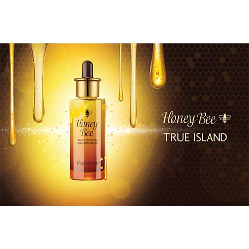 TRUE ISLAND HONEY BEE ROYAL PROPOLIS SOLUTION SERUM