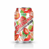 330ml VINUT Canned Strawberry Juice Sparkling water