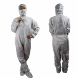 Unisex Low Linting Electronics Factory Safety Work Clothing