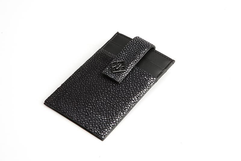 Real Stingray Card Money Clip