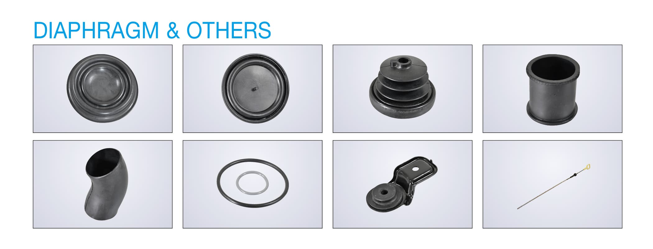 Automotive Antivibration rubber parts