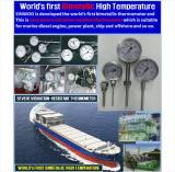 Vibration-Resistant BiMetal Thermometer