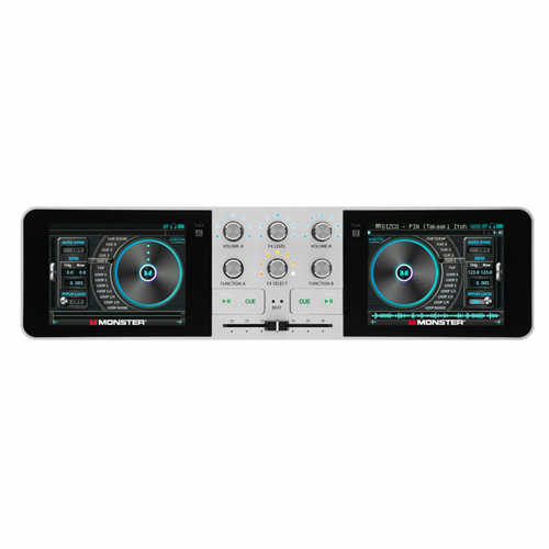 DJ Mixer Turntable Controller - Monster GODJ
