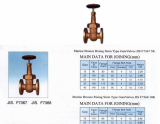 JIA F7367 5K marine bronze rising stem type gate valves