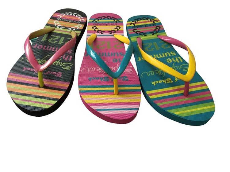 2e169b7f1 Hot Selling Pvc Straps Women EVA Flip FLops