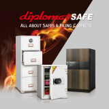 Premium Fire Resistant Safety box_ Safes