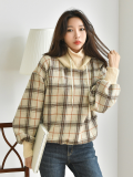 Top_ Hooded_ Winter wear_ Women_s Apparel
