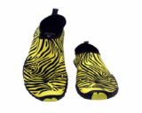 Aqua Shoes,Yoga,Fitenss---Ballop Zebra Yellow