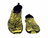 Aqua Shoes,Yoga,Fitenss---Ballop Zebra Yellow