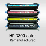 HP 3800 Color Toner Cartridges Remanufactured, Korea