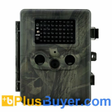 Trailview - 720p HD Game Camera (2.5 Inch, 54 IR LEDs Night Vision, GPRS/GSM)
