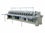 Twelve head laser embroidery cutting machine for staffed toys, knitwear, , textile products