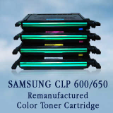 SAMSUNG CLP 600 Remanufactured Color Toner Cartridges, Korea