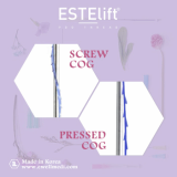Face Lifting ESTElift PDO Thread _ Screw COG_ Pressed COG