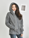 Hood Cardigan_ Jacket_ Outer_ Women_s Apparel