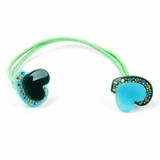 Hearts elastic hairband / hair accessories