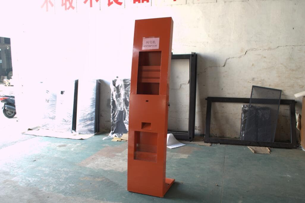 wireless queuing machine wall mounted queuing machine