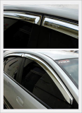 Chrome Window Visor