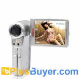 Ultra Compact Digital Video Camera (5MP, Macro Lens Focus)