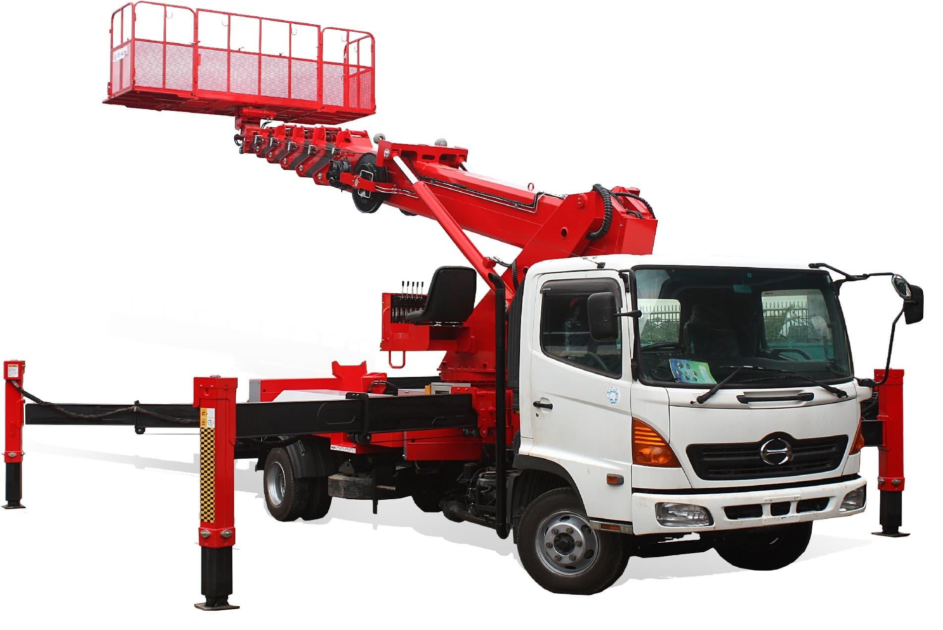 Aerial Work Platform Truck Atom320 Tradekorea