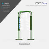 Virus care disinfectant sanitizer gate for COVID_19