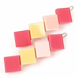 4 Square point hairpin / hair accessories