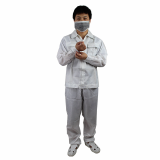 Safety Comfotable Clean room Anti Static Coveralls Size M