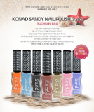 KONAD Sandy Nail Polish