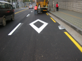 Thermoplastic paint for roadmarking