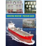 Resistant-vibration Pressure Gauge